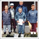 棚田米生産者(助はんどうの会)